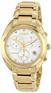 【当店1年保証】シチズンCitizen Eco-Drive Women's FB1392-58A Celestial Analog Display Gold Watch