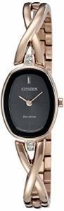 【当店1年保証】シチズンCitizen Eco-Drive Women's 'Silhouette' Quartz Stainless Steel Casual Watch