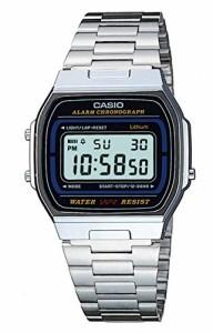 【当店1年保証】カシオCasio A164WA-1VES Mens Classic Collection Digital Watch