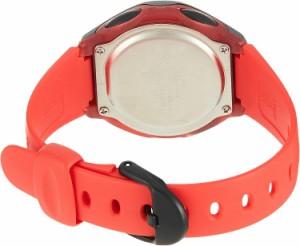 【当店1年保証】カシオCasio Women's LW-200-4AVEF Casio Collection Digital Quartz Red Resin Watch