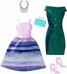 バービーBarbie Fashions Mermaid , 2 Pack - Petite