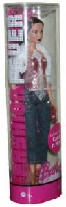 バービーBarbie Fashion Fever Tube Modern Trend Collection 12 inch Fashion Doll - Teresa with Fur Jacket, S