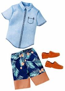 バービーBarbie Ken Fashion Denim Shirt & Shorts