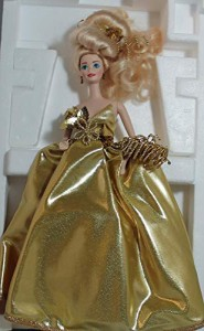 バービーBARBIE GOLD SENSATION LIMITED EDITION FIRST IN A SET SERIAL # 00345 (1993 TIMELESS CREATIONS) by M