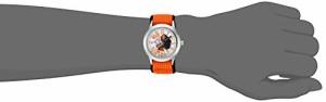 【当店1年保証】ディズニーDisney Girl's 'Moana' Quartz Stainless Steel and Nylon Casual Watch, Co
