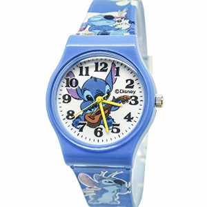 "【当店1年保証】ディズニーDisney Stitch Watch For Kids .Large Analog Dial. 9""L Band."