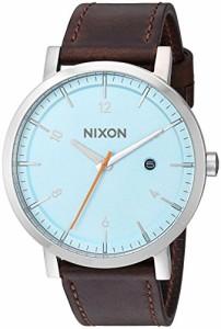 【当店1年保証】ニクソンNixon Men's 'Rollo' Quartz Stainless Steel and Leather Casual Watch, Color
