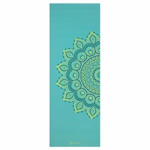 ヨガマットGaiam Premium Print Yoga Mat, Capri, 5/6mm