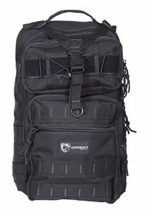 ミリタリーバックパックDrago Gear Atlus Sling Backpack, Black