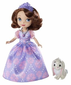 ちいさなプリンセス ソフィアDisney Sofia The First Sofia Doll and Clover The Rabbit