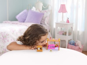 ちいさなプリンセス ソフィアDisney Sofia The First Royal Bed Playset