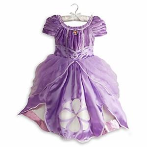 ちいさなプリンセス ソフィアDisney Sofia the First Dress Costume for Girls Small 5 / 6 Sophia