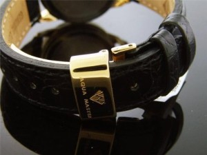 【当店1年保証】アクアマスターAqua Master Lady Round Style 0.50ct Diamonds Yellow Gold