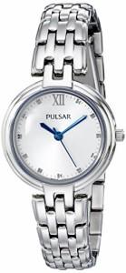 【当店1年保証】パルサーPulsar Women's PH8125 Analog Display Analog Quartz Silver Watch