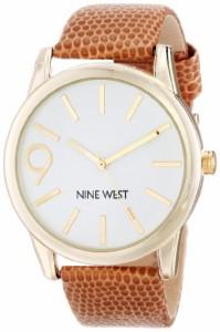 【当店1年保証】ナインウェストNine West Women's NW/1580WTBN Gold-Tone Oversized Watch