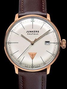 【当店1年保証】ユンカースJunkers Bauhaus Swiss Quartz Watch with Domed Hesalite Crystal 6074-1