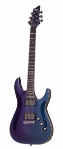 シェクターSchecter Hellraiser Hybrid C-1 Solid-Body Electric Guitar, UV