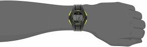 【当店1年保証】タイメックスTimex Men's TW5K93800 Ironman Essential 10 Full-Size Black/Yellow Re