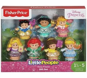 ディズニープリンセスFisher Price Little People Princess Figure Pack
