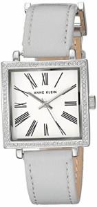 【当店1年保証】アンクラインAnne Klein Women's AK/2939SVLG Swarovski Crystal Accented Silver-Ton