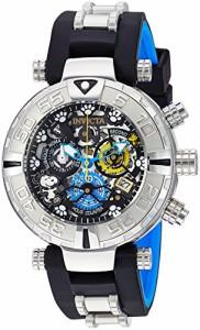 【当店1年保証】インヴィクタInvicta Men's Quartz Stainless Steel and Silicone Casual Watch, Colo