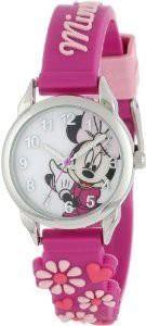 【当店1年保証】ディズニーDisney Girls Minnie Mouse Analog Wristwatch Purple O/S