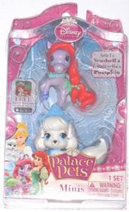 ディズニープリンセスDisney Princess, Palace Pets, Mini Pets, Ariels's Seashell and Cinderella's Pump