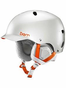 ウォーターヘルメットBern Lenox Snowboard Helmet Womens (Satin Delphin Grey, M/L)