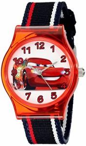 【当店1年保証】ディズニーDisney Kids' W001969 Cars Analog Black Watch