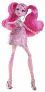 バービーBarbie A Fashion Fairytale Flairies Glim'R Doll