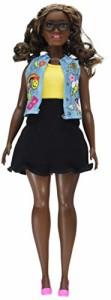 バービーBarbie Fashionsistas #39 Emoji Fun Doll, Curvy