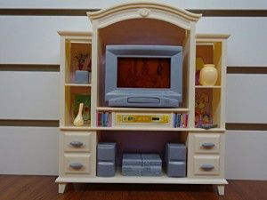 24012 NEW FANCY LIFE DOLL HOUSE FURNITURE LIVING Room With Entertainment