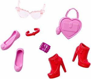バービーBarbie Fashion Accessory Pack, Pink and Red