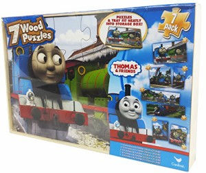 アナと雪の女王Thomas The Tank Engine 7 Pack Wood Puzzles