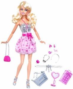 バービーBarbie Fashionistas Sweetie Shops For Jewelry Doll