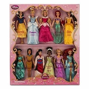 ディズニープリンセスDisney Exclusive Princess Doll Collection - 12''- (11 Dolls:Snow White, Cinderel