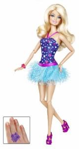 バービーBarbie Fashionistas Barbie Doll - Blue Dress