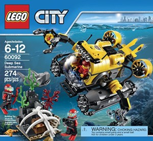 レゴLEGO City Deep Sea Explorers 60092 Submarine Building Kit