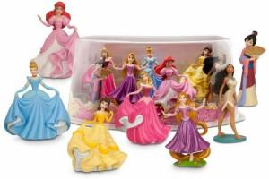 ディズニープリンセスDisney Princess Mini-Figure Play Set #2