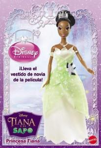 バービーDisney The Princess and The Frog Princess Tiana Doll