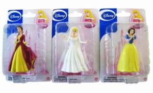ディズニープリンセス3 Disney Princess Figure Collection - Bell / Snow White / Aurora 3pcs Figurine S