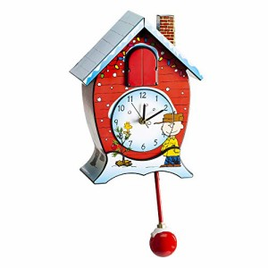 壁掛け時計Mark Feldstein CKPNX Peanuts Christmas Cuckoo Clock