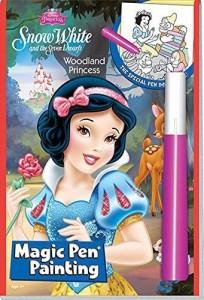 白雪姫Disney's Snow White and the Seven Dwarfs Woodland Princess Magic Pen Painting by Disney by Disney