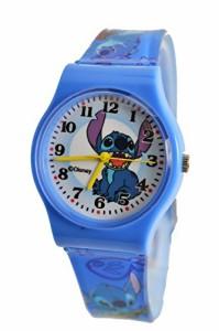 """【当店1年保証】ディズニーDisney Lilo & Stitch Watch For Children .Large Analog Dial. 9""""L Band."""