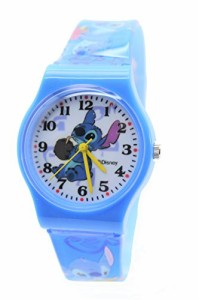 """【当店1年保証】ディズニーDisney Lilo & Stitch Watch For Children .Large Analog Dial. 9""""L Band. ("""