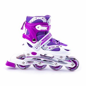 インラインスケートScale Sports Kids Adjustable Inline Skates Outdoor Durable Perfect First Skates 603