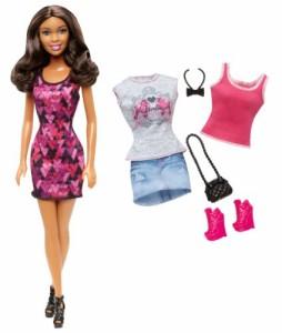 バービーBarbie Doll and Fashion Giftset, Brunette