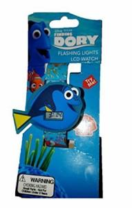 【当店1年保証】ディズニーDisney Pixar Finding Dory Flashing Lights LCD Watch