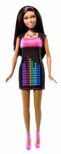 バービーBarbie Digital Dress African-American Doll