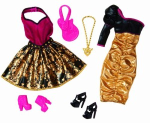 バービーBarbie Night Looks Rock Concert Fashion Pack